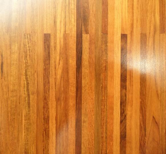 teak floating floor