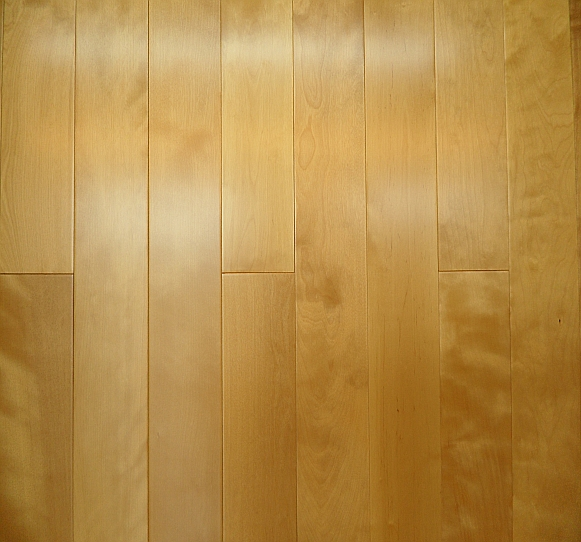 Smooth Prefinished Maple Flooringclear Grade Solid Flooring