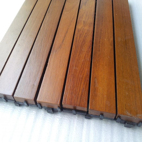 Teak Wood Floor Tile