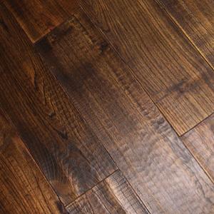 Robinia Wood Flooring Prefinished Chinese Teak Hardwood