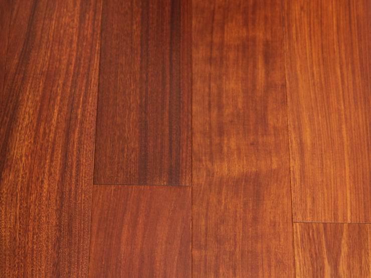 Parquet mahogany wood flooring