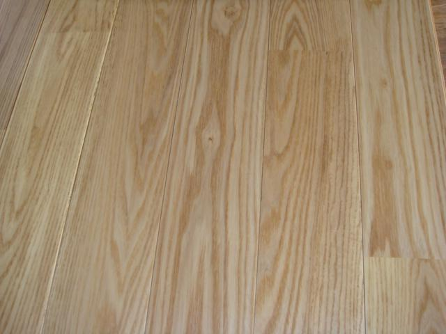 white ash wood flooring