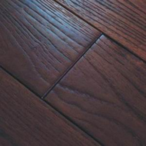 stained & hand scraped flooring