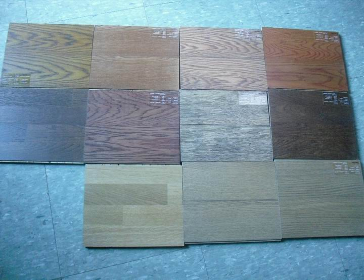 oak engineered floor color options