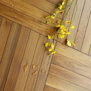 oiled burma teak flooring