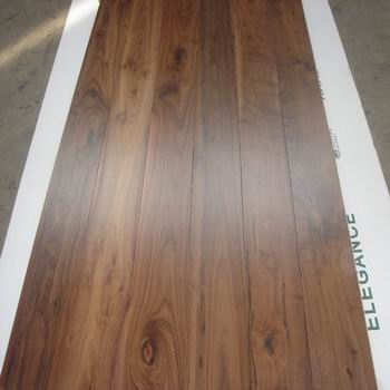 natural American walnut flooring