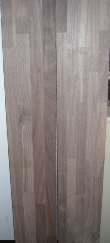 finger jointed American walnut flooring