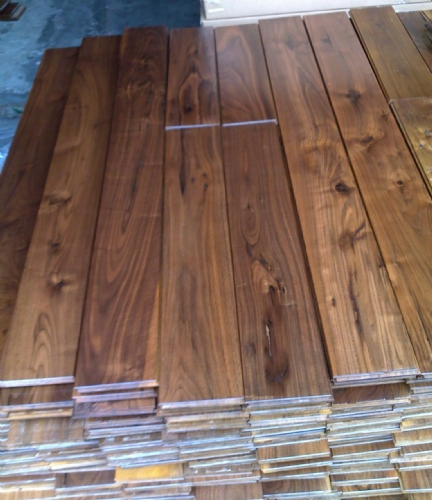 rustic walnut flooring