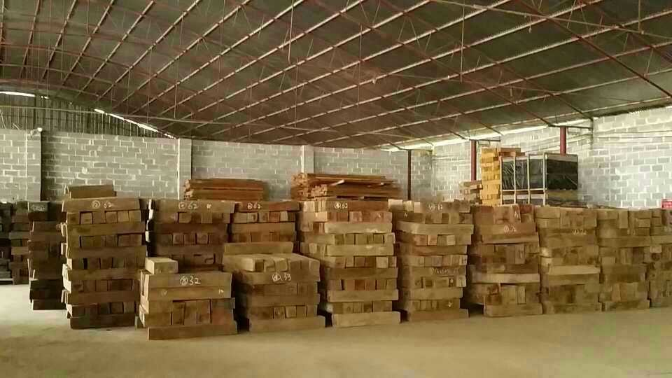 Raw Material Stock Of Burma Teak Flooring From C Amp L Wood