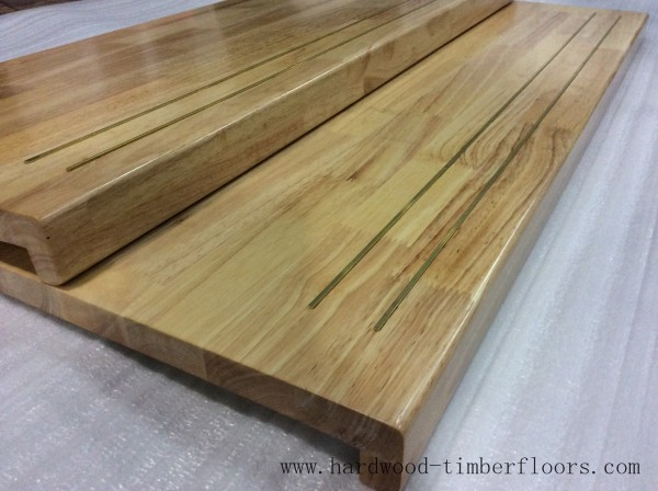 Perfect Acacia Wood Stair Treads With Finger Jointed