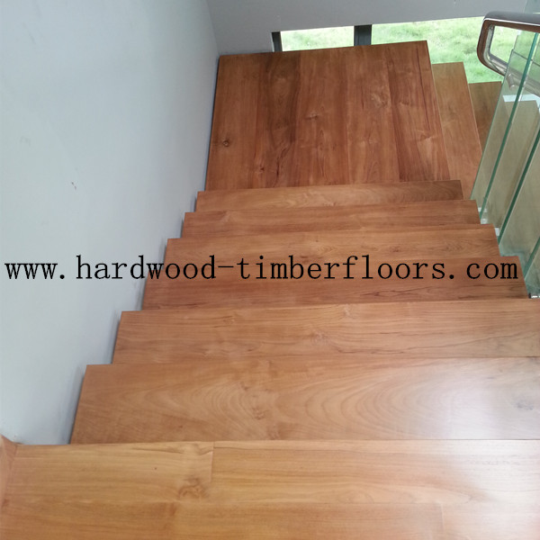 Burmese Teak Wood Stair Projects in Singapore