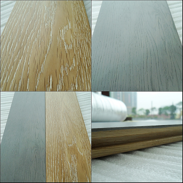 Wire Brushed Timber Floor