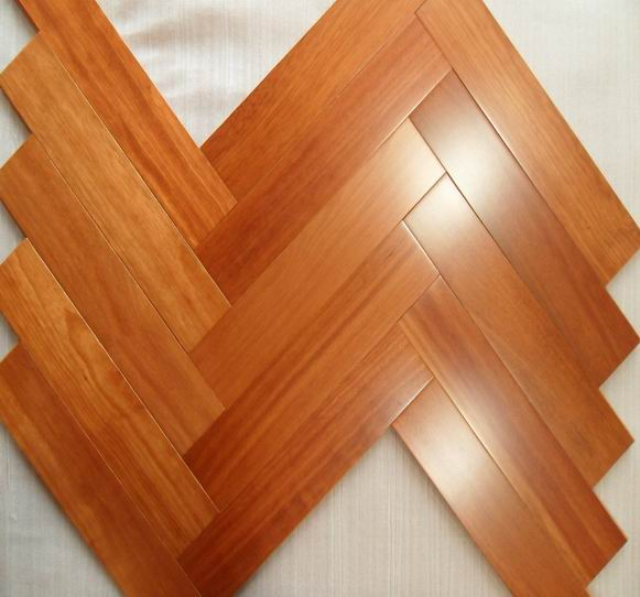solid timber floor
