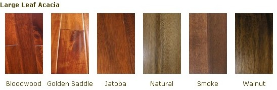 prefinished natural asian walnut  acacia solid hardwood flooring
