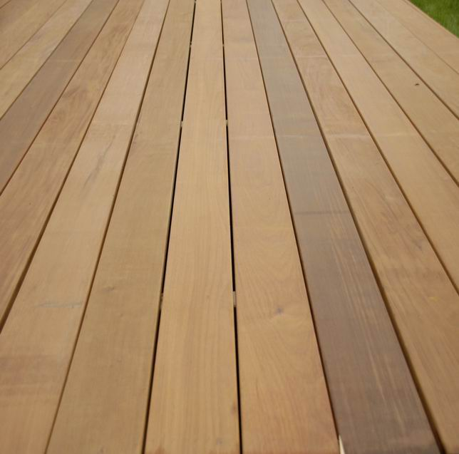 Ipe hardwood decking ipe outdoor wood decking supplier for Hardwood timber decking