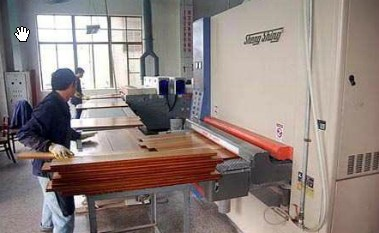 china factory processing for solid timber floor