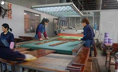 prefinished timber flooring manufacturing process