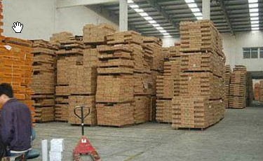factory timber flooring manufacturing process