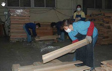 solid timber flooring manufacturing-I