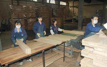 timber floor manufacturing