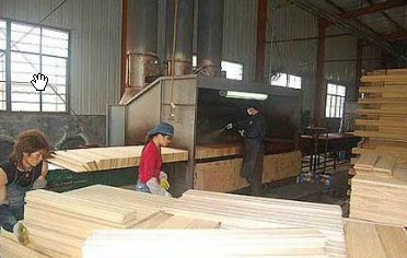 solid wood floor manufacturing process