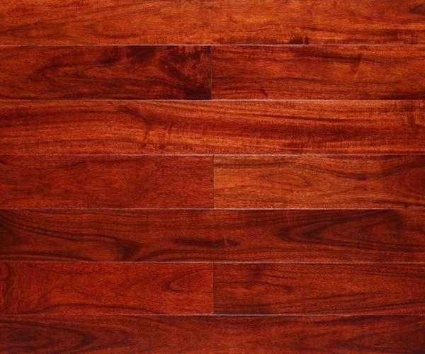 Red Hardwood Zion Star