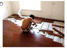 TIMBER FLOORING INSTALLATION-III