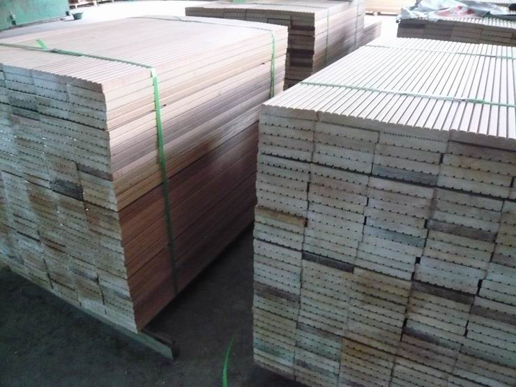 CUMARU DECKING IN WAREHOUSE