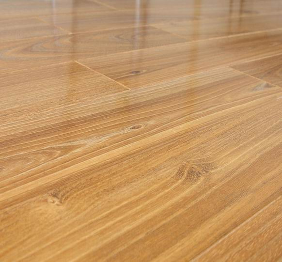 Laminate flooring glossy laminate flooring for At floor or on floor