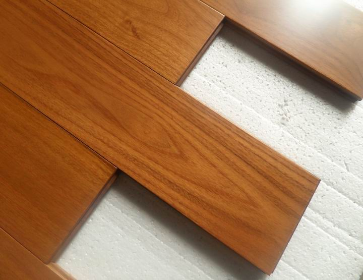 Robinia Wood Flooringprefinished Chinese Teak Hardwood Flooring